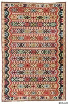Vintage Pirot Kilim Rug