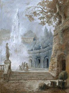 Fresco, Wall Murals, Wall Art, Wallpaper Aesthetic, Baroque Art, Art Decor, Decoration, Mural Painting, Paintings