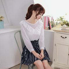long-sleeved bottoming shirt - AddOneClothing - 1
