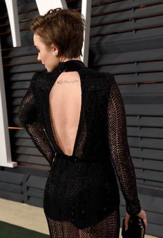 Lily Collins debuts new short hair at Vanity Fair Oscar party|Lainey Gossip Entertainment Update