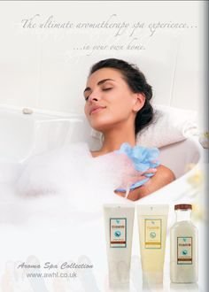 The ultimate aromatherapy spa experience in your home. Forever Living Products Aroma Spa Collection #aromatherapy #spa #relaxation www.awhl.co.uk