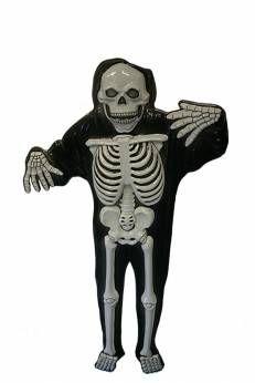 Decoratie Plastic Skelet GID