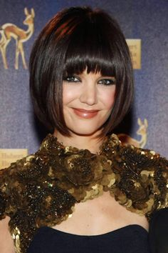 Beautiful bangs icon: Katie Holmes, 2007