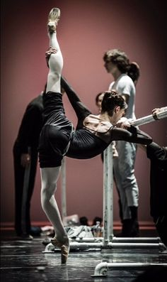 "parisienneballerina: ""prosthetic-dance: ""Anna Tsygankova, The Dutch National Ballet © Carlos Quezada "" polishcamomile, don quoxite! """