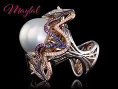 Maytal Jewelry is an exclusive luxury boutique specializing in fresh, innovative and unique designer jewelry. Save up to off retail on the finest diamond and gemstone rings, bracelets, earrings… High Jewelry, Luxury Jewelry, Pearl Jewelry, Jewelry Art, Diamond Jewelry, Jewelry Gifts, Fashion Jewelry, Unique Jewelry, Fashion Goth