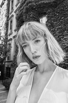 The Model wears Reformation Garbo Dress 2016 Lookbook