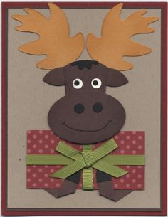 Stampin+Up+Punch+Art+Ideas | Stamp by Stamp: Christmas Moose Punch Art