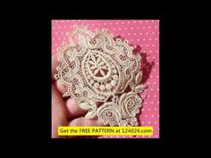 Irish Crochet, Rose Devere Richardson Opera Bag - YouTube