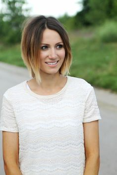 Bob hairstyles with Ombre shades! Images and Video Tutorials! | The HairCut Web!