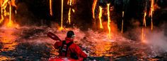 25 Epic Travel Destinations For Hardened Adventurers Only.  Pro Packing Cubes just launched a fiery subset orange...check em out.  Limited supplies! http://amzn.to/1pgJF3a
