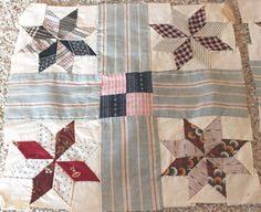 1+Vintage+Lemoyne+Stars+and+Bars+Quilt+Blocks+by+snpg+on+Etsy,+$6.00