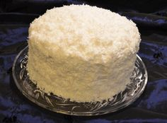 for my mother. never enough delicious, moist coconut cake in one lifetime. Granny's Famous Coconut Cake