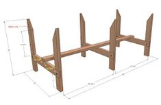LA VARLOPE: Bac à jardinage surélevé Veg Trug, Diy Wood Projects, Projects To Try, Plant Box, Raised Planter, Drawing Skills, Raised Beds, Flower Beds, Wood Turning