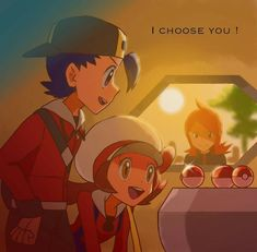 No matter how hard the choice, this is still my favorite moment. Every single game. Gold Pokemon, Pokemon Fan Art, Pokemon Ships, Cute Pokemon, Pokemon Memes, Pokemon Comics, Original Pokemon, Pokemon People, Pokemon Couples