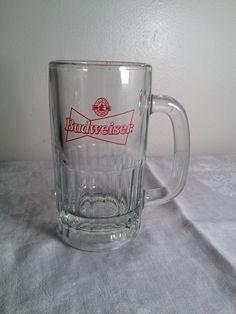 Budweiser, Official Product, heavy, vintage, beer mug