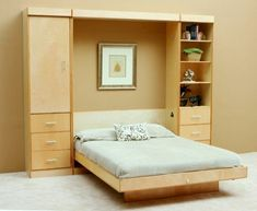 Folding beds fold away bed and narrow open shelf