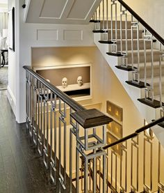 https://flic.kr/p/btyraU | Metalmorfis-Foster-Stairs | Railing by Metalmorfis; Built by Constructure; Staining by New England Architectural Finishing; Photography by Richard Mandelkorn