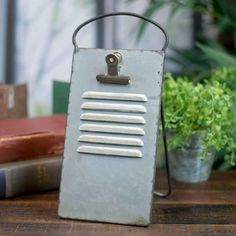 Metal Recipe Holder with Clip Vintage Style Cheese Grater Display Easel Display Easel, Table Top Display, Metal Easel, Recipe Holder, Cheese Grater, Antique Farmhouse, Galvanized Metal, Farmhouse Style Decorating, Memorable Gifts