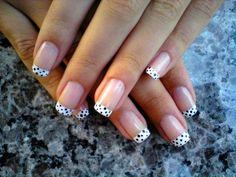 cute french manicure