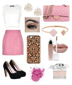 """""""Party"""" by skymorgen on Polyvore featuring BCBGMAXAZRIA, Michael Kors, Cara, Chloé and Felony Case"""