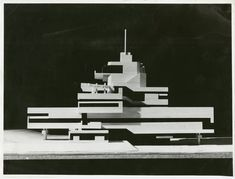 ARCHSY — aintknow: Model for the Town Hall of Terneuzen,...