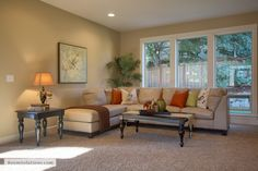 Model home staged by Room Solutions Staging in Portland OR   www.RoomSolutions.com    #PortlandHomeStaging