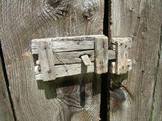 Wooden Barn Door Latch