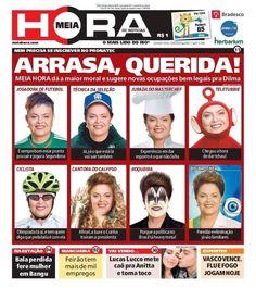 Capa do jornal afastamento Dilma