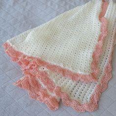 Beautiful baby blanket now in the shop. #crochet #baby #handcrafted #handmadewithlove #handmade #pregolife #preggo #babyshower #babygirl #newborn #newmommy #mommytobe #familyfun #newbaby #daddysgirl #newdaddy #etsyshop #etsy #crochetblanket #babyblanket by daisyneedleworks