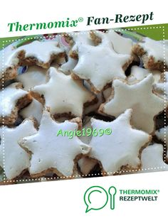 """Cinnamon stars """"Christmas classics"""" - Cinnamon stars """"Christmas classics"""" by A Thermomix ® recipe from the category baking sw - Biscotti, Chocolate Chip Cookies, Christmas Cookies, Main Dishes, Cinnamon, Clean Eating, Deserts, Food And Drink, Sweets"""