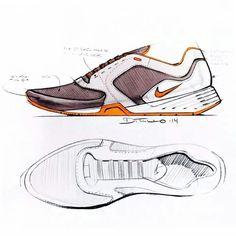 Sketches we like / Nike / Shoe / Pencil / Softgoods /