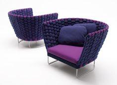 Ami - Paola Lenti Knitted tubular fabric
