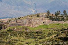 Puka Pukara fortress, Cusco, Peru