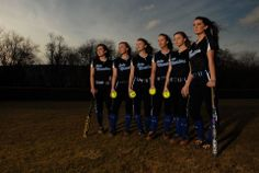 Bledsoe County High School Softball Senior Group Picture. 2014