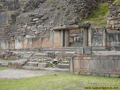 Zona Arqueológica Chavín de Huántar. Foto 11