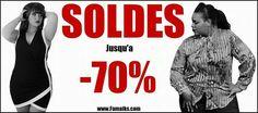 C'est parti pour les SOLDES jusqu'à - 70% sur www.famaiks.com  Bon shopping  ☺