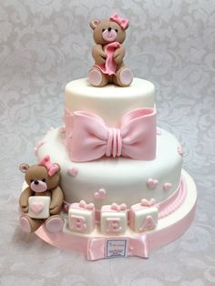 Discover recipes, home ideas, style inspiration and other ideas to try. Torta Baby Shower, Tortas Baby Shower Niña, Baby Shower Cupcakes, Baby Shower Fun, Shower Cakes, Baby Girl Birthday Cake, Baby Girl Cakes, Pasteles Baby Shower Niña Flores, Formation Patisserie