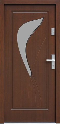 Top 50 Modern Wooden Door Design Ideas You Want To Choose Them For Your Home - Engineering Discoveries Front Door Design Wood, Double Door Design, Wooden Door Design, Wood Front Doors, Entrance Design, The Doors, Modern Wooden Doors, Modern Front Door, Single Main Door Designs