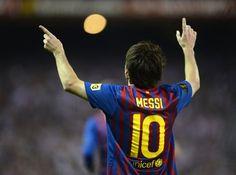 Messi y el Barça, los más mediáticos del mundo del fútbol