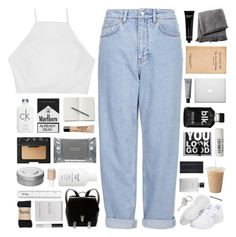 """stranger to love // tag"" by cheruhb ❤ liked on Polyvore featuring Boutique, New Balance, NARS Cosmetics, rag & bone, From the Road, Dermalogica, Hermès, L:A Bruket, Bobbi Brown Cosmetics and Paul Smith"
