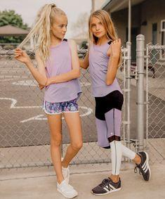 workout for tweens for kids - workout kids tween Preteen Girls Fashion, Young Girl Fashion, Teenage Girl Outfits, Kids Fashion, Sporty Girls, Fashion Fashion, Fashion Outfits, Teen Girl Poses, Moda Emo