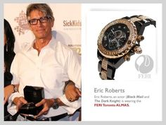 Eric Roberts can't get enough of his men's FERI Timepiece. This is a creme-de-la-creme pieces featuring Rose Gold and set with 190 premium grade diamonds. Simply- the best! Fashion Brand, Luxury Fashion, Fashion Design, Eric Roberts, What Is Hot, World Class, High End Fashion, Lady And Gentlemen, Go Shopping