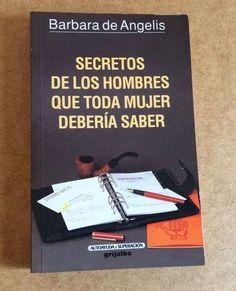 SECRETOS DE LOS HOMBRES QUE TODA MUJER DEBERÍA SABER Libro Español AUTOAYUDA
