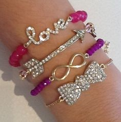 Candyland Stack Love their bracelts! if anyone wants to get me anything(;