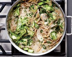 Healthy Fettuccine Alfredo Recipe | Women's Health Magazine