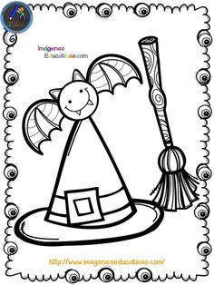 Librito para colorear en HALLOWEEN - Imagenes Educativas Moldes Halloween, Adornos Halloween, Halloween 6, Manualidades Halloween, Easy Halloween Crafts, Halloween Books, Halloween Decorations, Pattern Coloring Pages, Coloring Book Pages