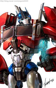 TFP - Optimus prime by *GoddessMechanic on deviantART