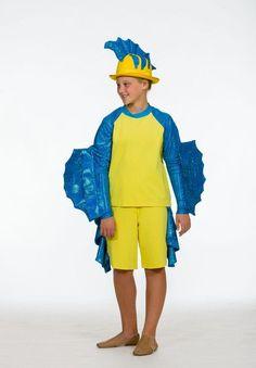PCS hat for Boy fish costume The Little Mermaid Musical, Little Mermaid Play, Little Mermaid Costumes, Little Mermaid Parties, Flounder Costume, Fish Costume, Theatre Costumes, Diy Costumes, Costume Ideas