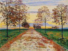 Ferdinand Hodler, Autumn Evening, 1892