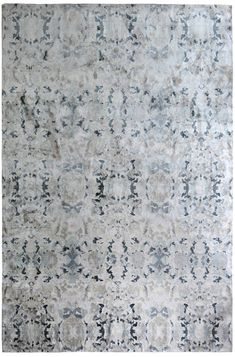 Pattern Alabaster – light Material 100% silk 150 knot count Made In Nepal Size Pictured 8′ x 10′ (actual rug) ***Please expect rugs to match samples not renderings. Price per Square Foot $220.00